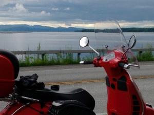 Lake Champlain view