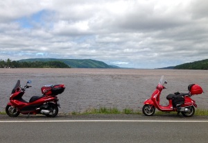 at the southern entrance to the Cabot Trail